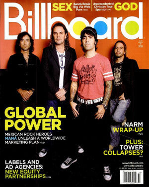 Billboard Back Issue Volume 118, Issue 33