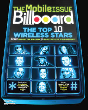 Billboard Back Issue Volume 119, Issue 13