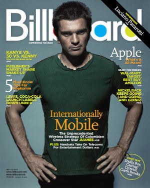 Billboard Back Issue Volume 119, Issue 37