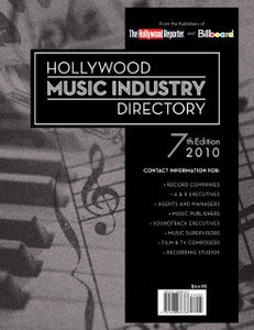 Billboard 2010 Hollywood Music Industry Directory - Volume 7