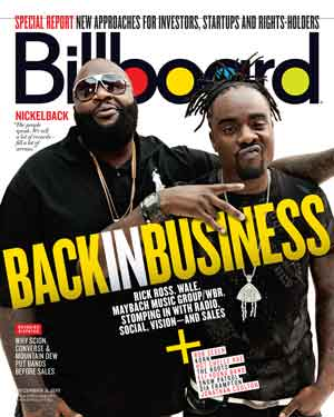 Billboard Back Issue Volume 123, Issue 44