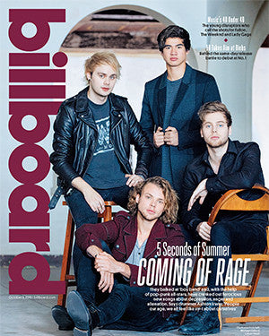 Billboard Back Issue Volume 127, Issue 29