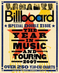 Billboard Poster: The Year In Music And Touring 2007 (Dec 22, 2007) 24x30 - Poster A