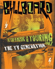 Billboard Poster: The Year In Music And Touring 2007 (Dec 22, 2007) 24x30 - Poster D