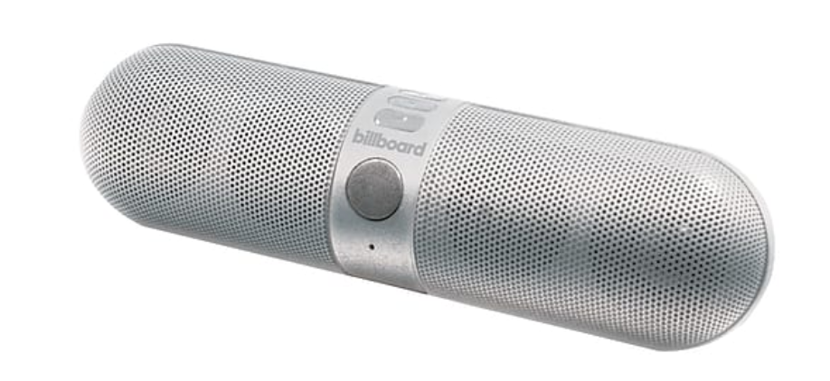 Billboard Pill BT Silver Speaker
