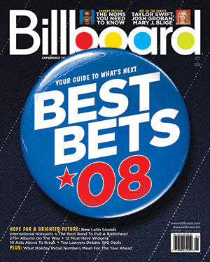 Billboard Back Issue Volume 120, Issue 1