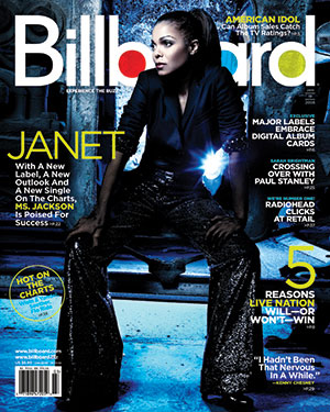 Billboard Back Issue Volume 120, Issue 3