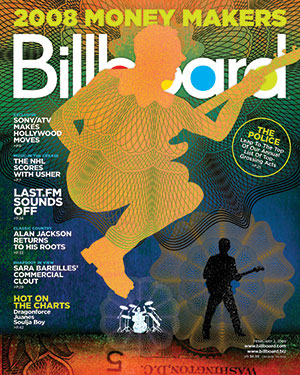 Billboard Back Issue Volume 120, Issue 5