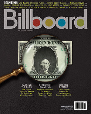 Billboard Back Issue Volume 120, Issue 10