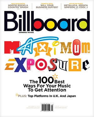 Billboard Back Issue Volume 120, Issue 39