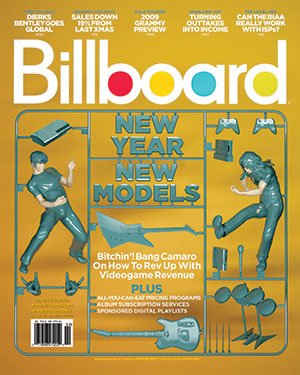 Billboard Back Issue Volume 121, Issue 1