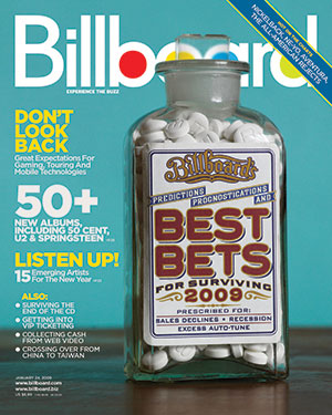 Billboard Back Issue Volume 121, Issue 3