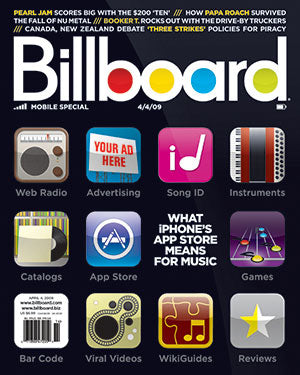 Billboard Back Issue Volume 121, Issue 13