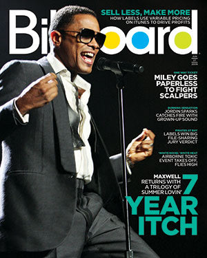 Billboard Back Issue Volume 121, Issue 25