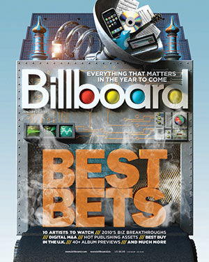 Billboard Back Issue Volume 122, Issue 3