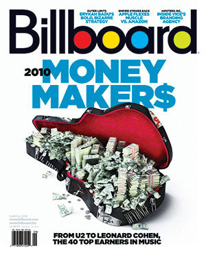Billboard Back Issue Volume 122, Issue 9