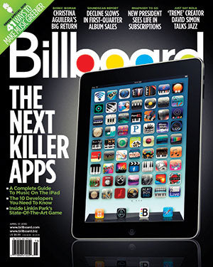 Billboard Back Issue Volume 122, Issue 15