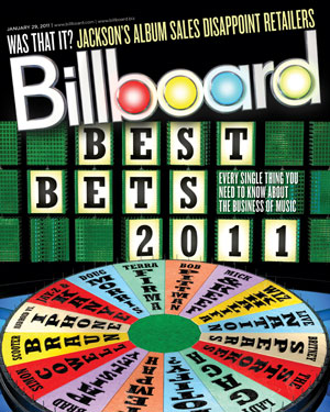 Billboard Back Issue Volume 123, Issue 3