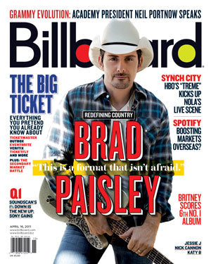 Billboard Back Issue Volume 123, Issue 13