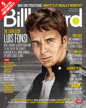 Billboard Back Issue Volume 123, Issue 15