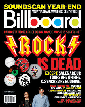 Billboard Back Issue Volume 124, Issue 1
