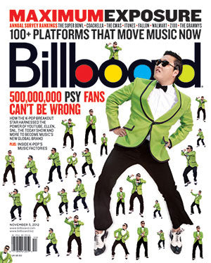 Billboard Back Issue Volume 124, Issue 39