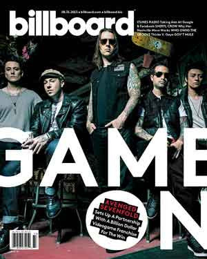 Billboard Back Issue Volume 125, Issue 33