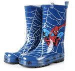 Spider-Man Boy Kids Wellington Boots Wellies Rain Boot (Toddler/Little Kid) (8M US Toddler)