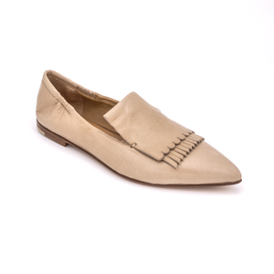 Open image in slideshow, Kiltie Loafer 1744 | Nude Glove Leather