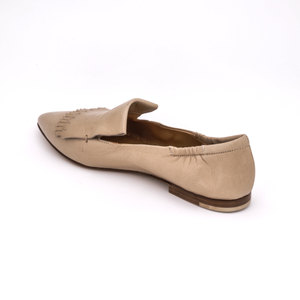 Kiltie Loafer 1744 | Nude Glove Leather