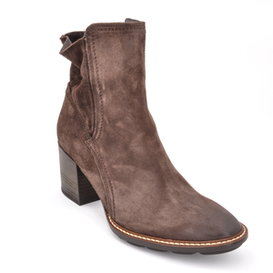 Open image in slideshow, Diedre Bootie | Coffee Nubuck