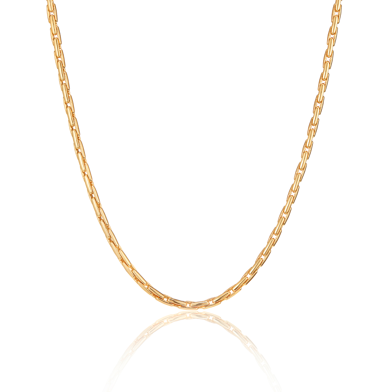 Constance Chain Necklace | Gold
