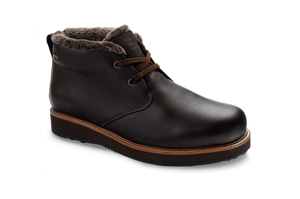 Open image in slideshow, Winter's Day | Espresso Brown Leather / Brown Davos Ice Sole