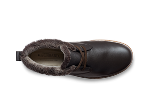 Winter's Day | Espresso Brown Leather / Brown Davos Ice Sole