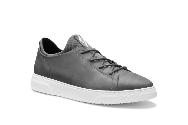 Hubbard Flight | Aircraft Gray Leather / White Sole