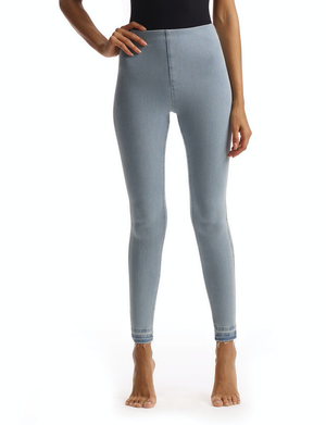 Open image in slideshow, All-Day Denim Legging | Faded Blue