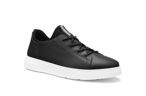 Open image in slideshow, Hubbard Flight | Carbon Black Leather / White Sole