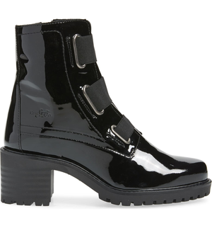 Indie Bootie | Black Patent Leather