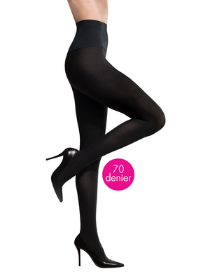 Open image in slideshow, Ultimate Opaque Matte Tights | Black