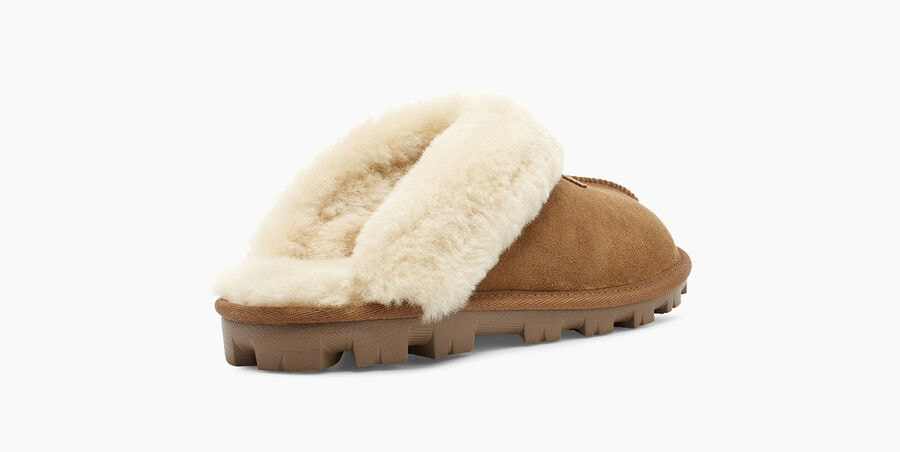 Coquette Slipper | Chestnut