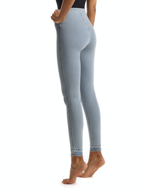 All-Day Denim Legging | Faded Blue