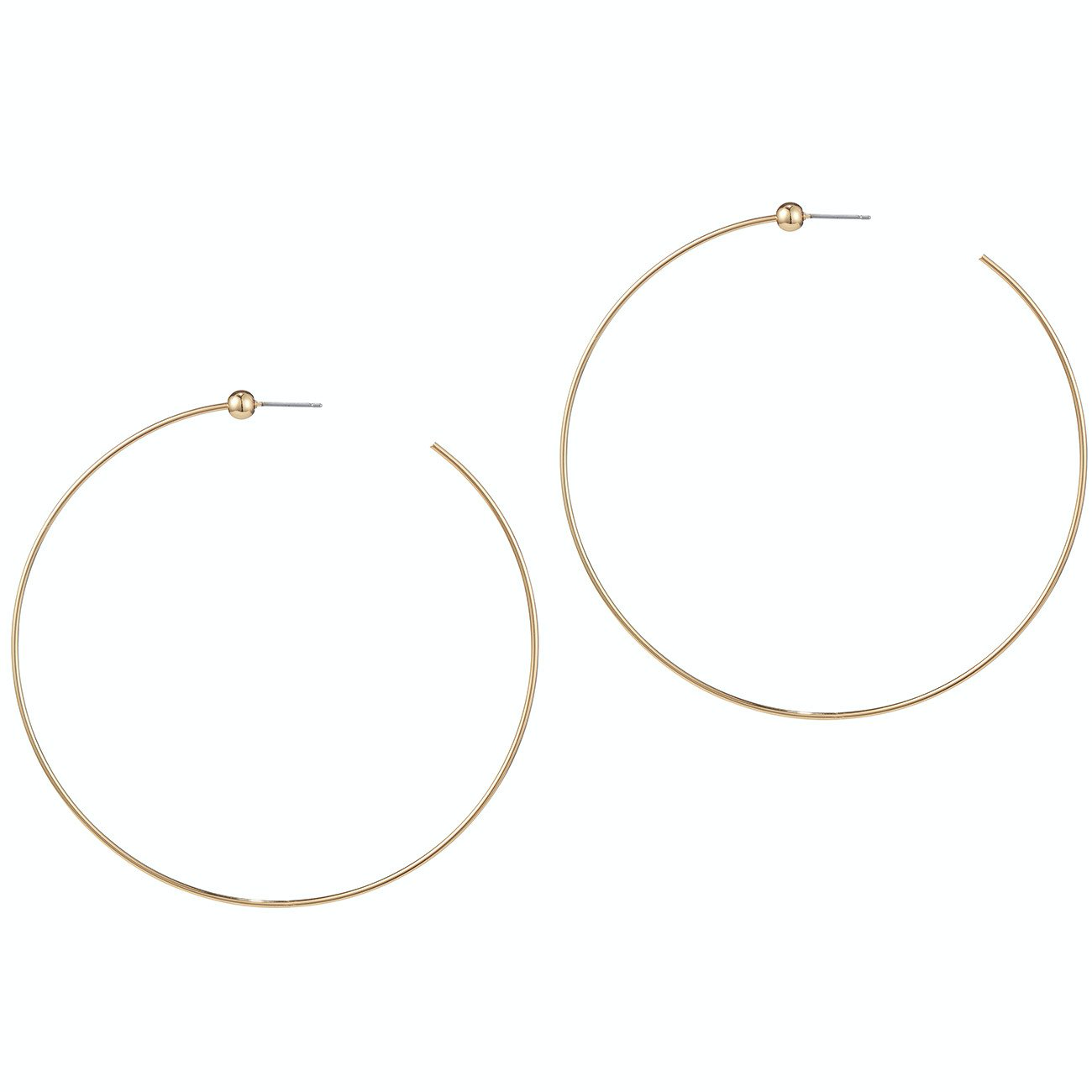 Icon Hoops - Medium | Gold