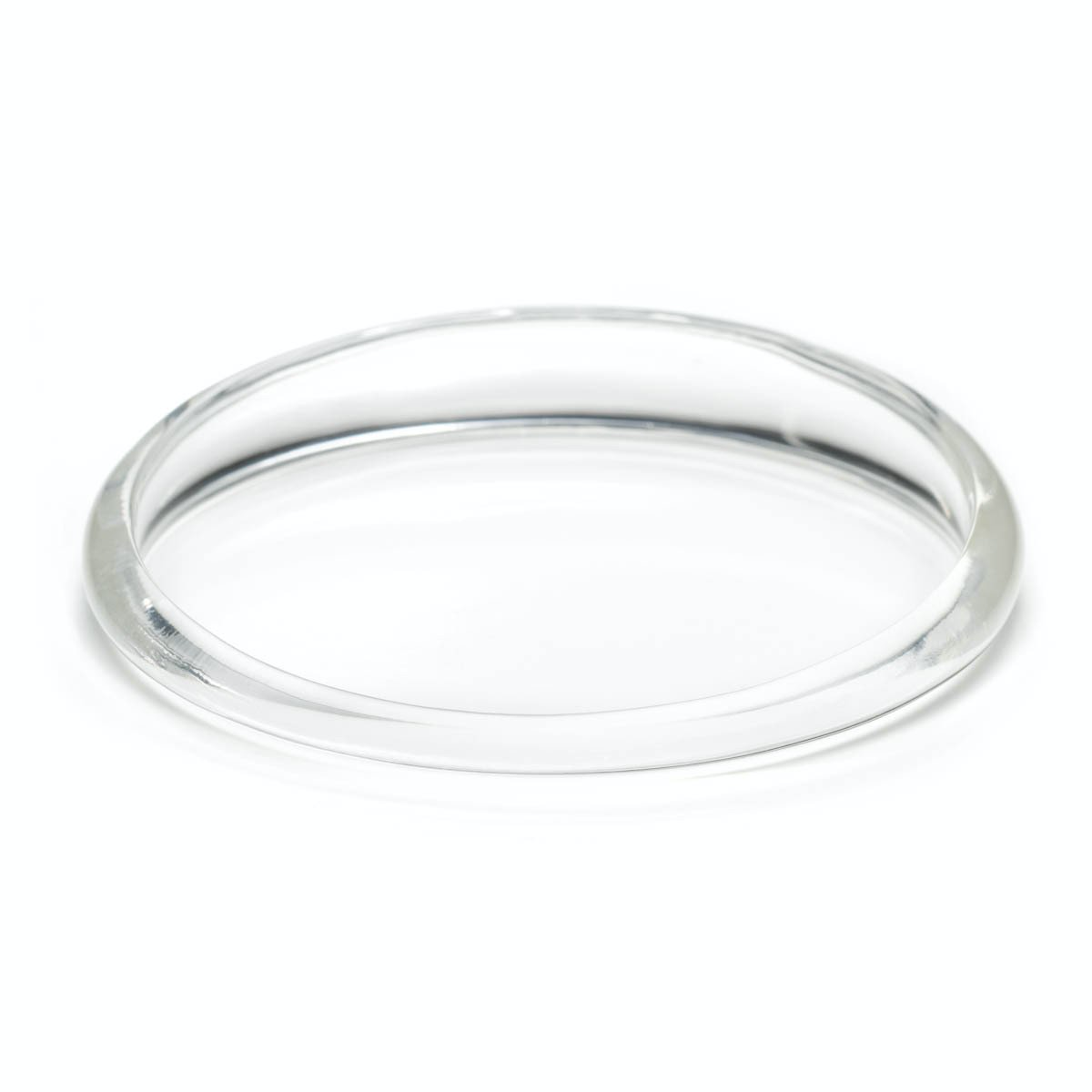 Tapered Bangle Bracelet | Clear
