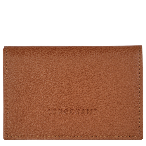 Card Holder with Flap | Cognac