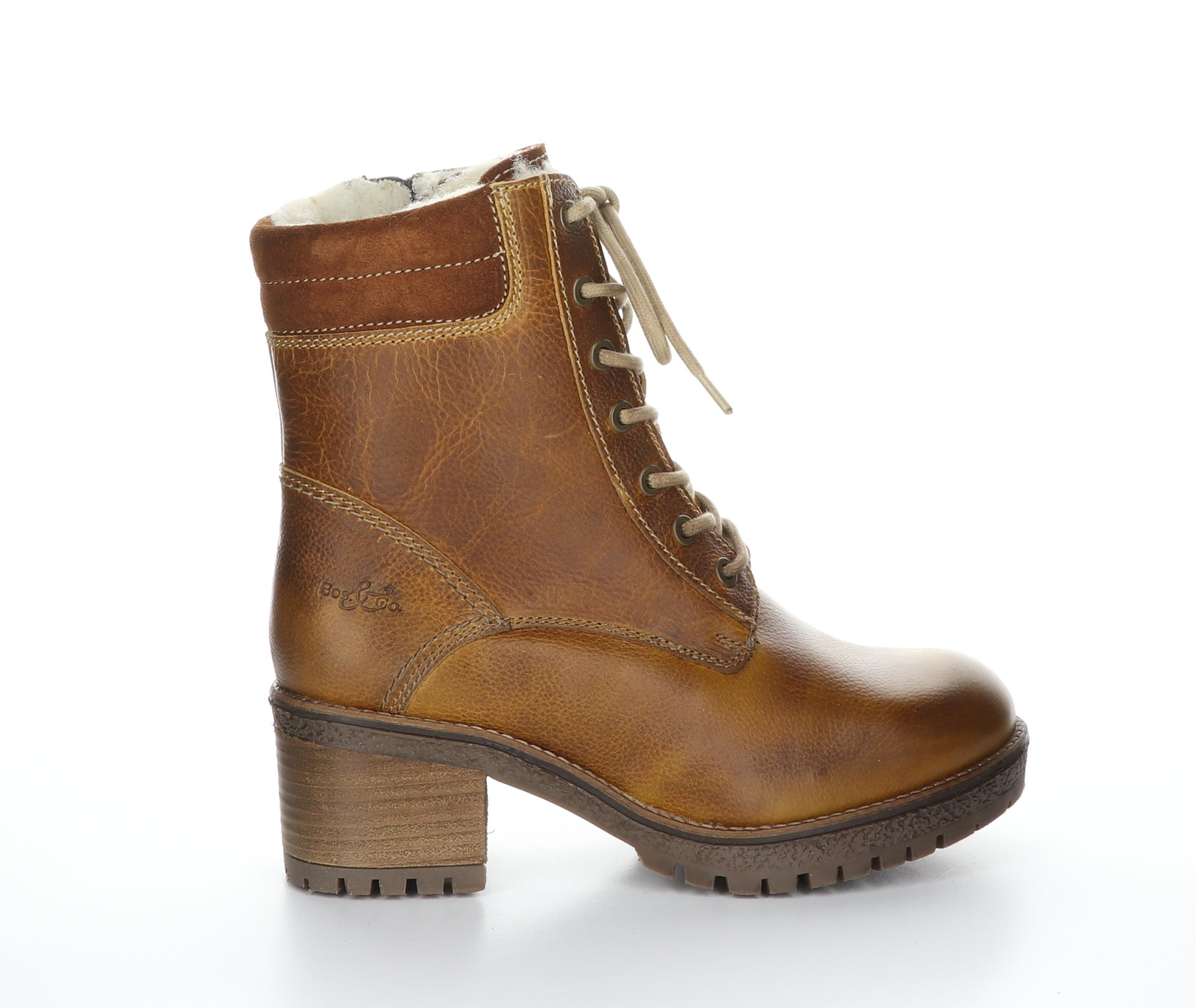 Mustang Bootie | Cognac Leather