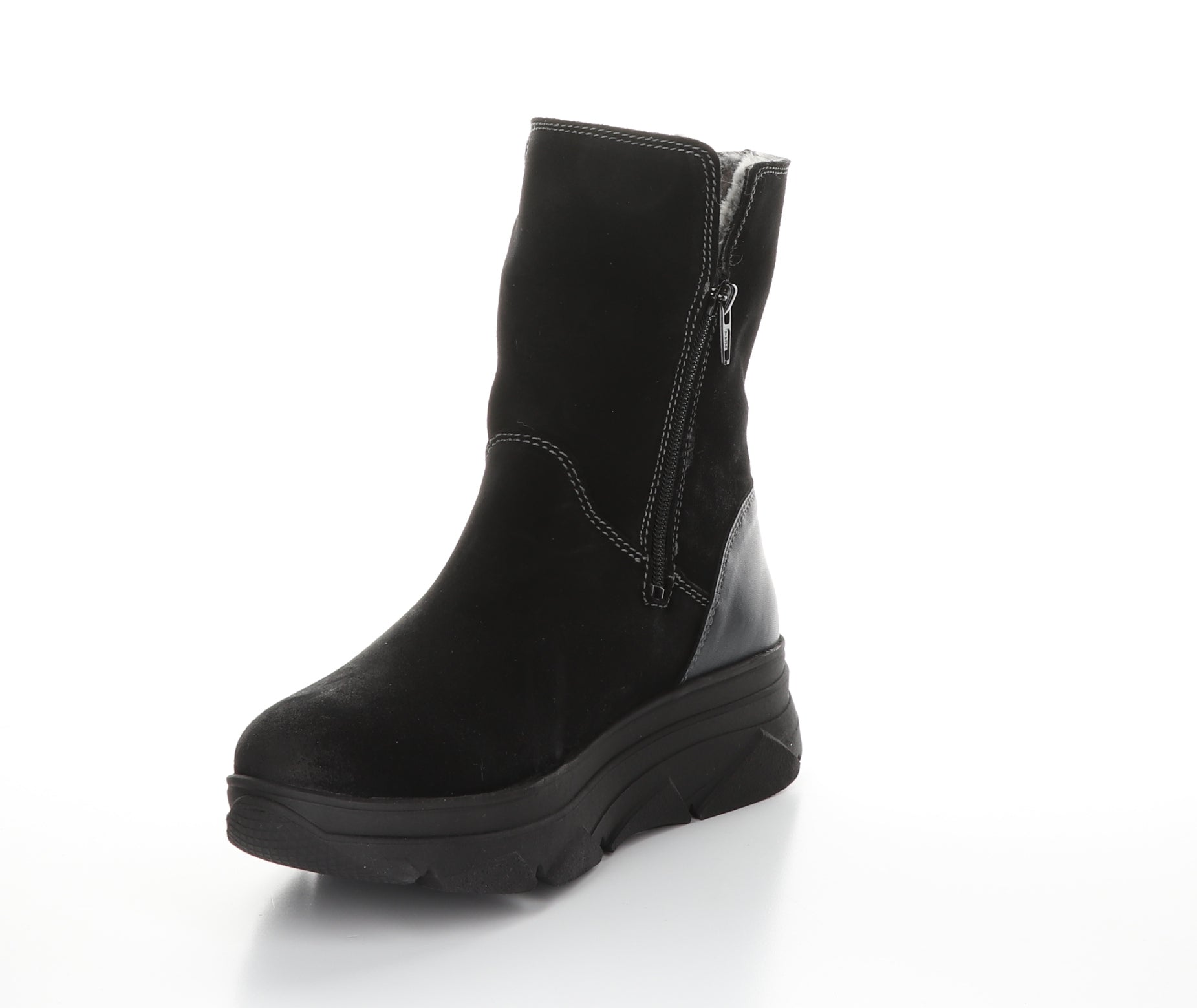 Padi Boot | Black Suede