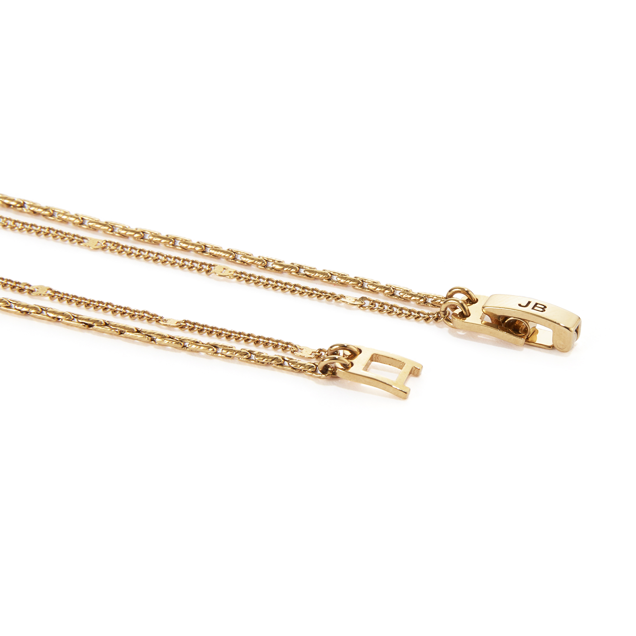 Surfside Duo Chain | Gold