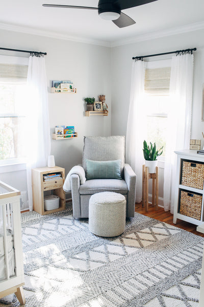 Neutral Bright and Airy Nursery Reveal
