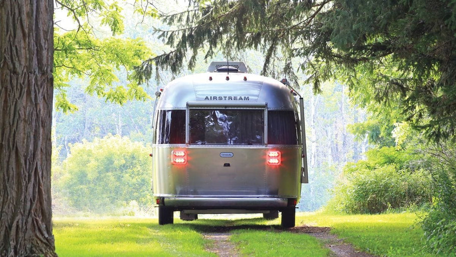 The name is classic and the aluminum silhouette unmistakable: The Airstream