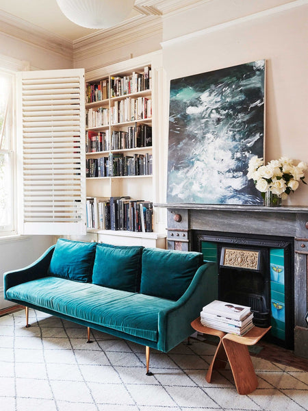 This Street Style Star's Home Is as Cool and Layered As You'd Expect
